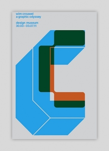 Wim Crouwel Exhibition Items- Now available | Swiss Legacy #international #design #graphic #crouwel #poster #wim #style