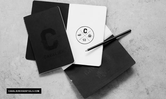 Cavalier Essentials #packaging #logo #stationery