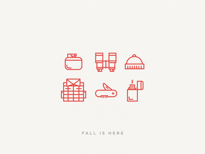 Fall Is Here #icon #picto #pictrogram #symbol