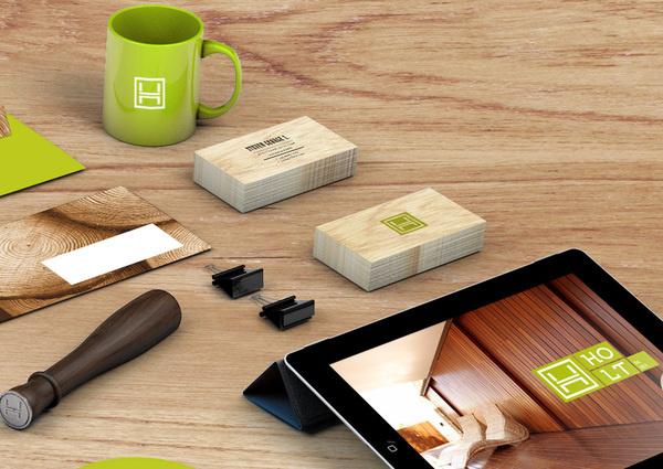 Holt // Enchanted Wood Furniture #design #graphic #branding