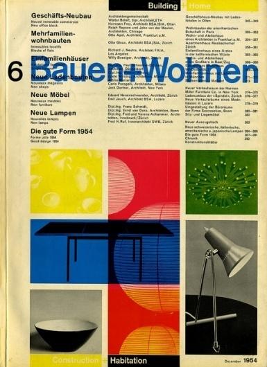 Bauen+Wohnen: Volume 03, Issue 06 | Flickr - Photo Sharing! #swiss #design #graphic #cover #grid #bauen+wohren #magazine #typography