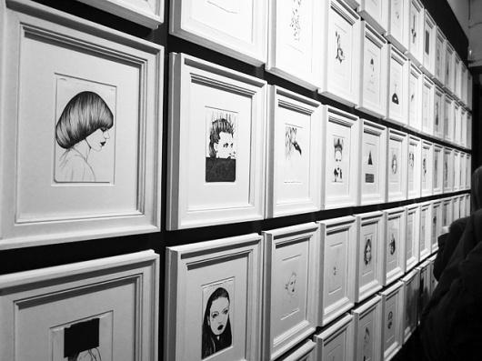 LOVE J #exhibition #bray #illustration #david