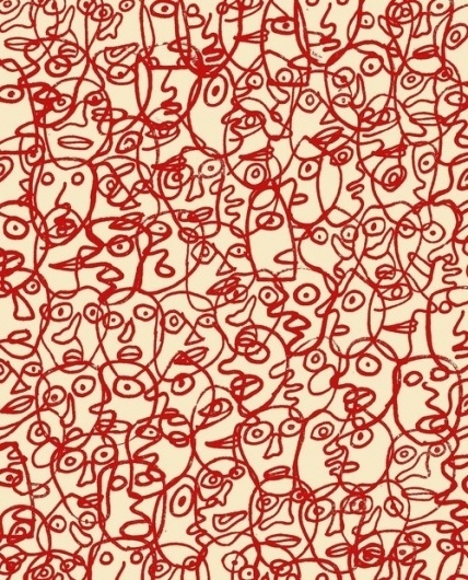 """this isn't happiness™ (""""Be yourself.Everyone else is already taken."""" -...) #pattern #design #graphic #art"""