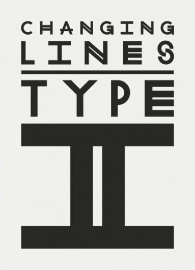 TYPE - II - Pedro Lopes Pereira - Graphic Design #type #lines #changing #typography