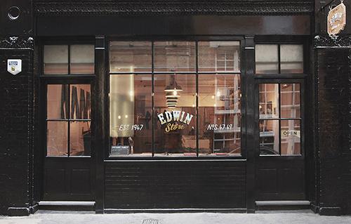 Edwin #shopfront