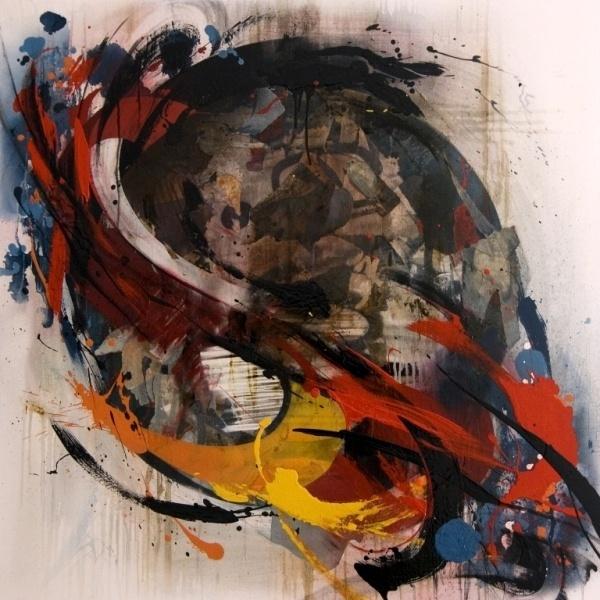 """The Reds"" series (2008 – 2014) | Emanuele Vittorioso #graffiti #paint #art #spray #fine"