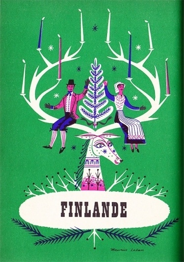 Vintage illustrations of European countries | Art and design inspiration from around the world - CreativeRoots #design #illustration #vintage #art #typography