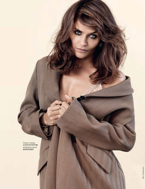 Helena Christensen by Eric Guillemain #fashion #photography #inspiration