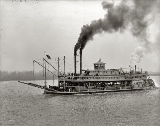 America: 1900 | Shorpy Historic Photo Archive #boat