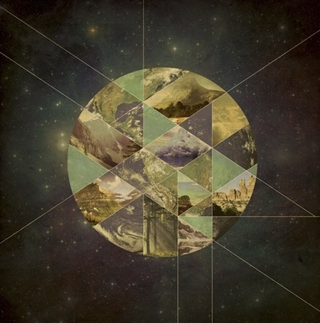 FormFiftyFive – Design inspiration from around the world » Blog Archive » Justin Mezzell #retro #space #nature #kaleidioscope #planet