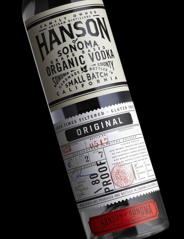 """Stranger & Stranger   http://strangerandstranger.com""""The Hanson Family, Californian through and through, have built a distillery in S #packaging #label #wine #baller"""