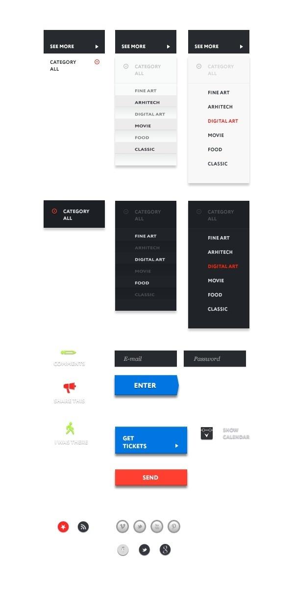 HomeMuse Gallery on Behance #web #homemuse #webdesign