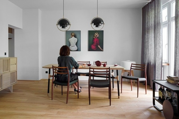 Tasteful Display of Contemporary Design in a Cozy Apartment in Szczecin, Poland 8