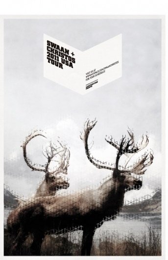 Mark Brooks Graphik Design » SWAAN + CHRISTOS #design #graphic #poster