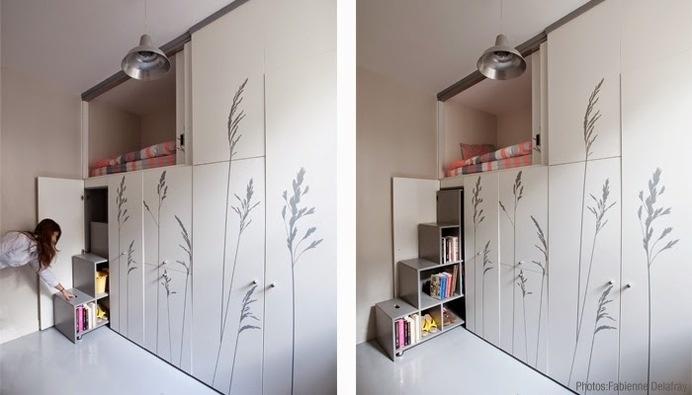 8 Sqm Maidu0027s Room Renovation #interior #ideas #apartment #design