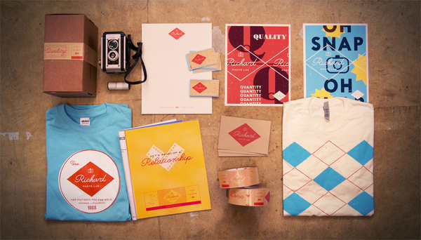 RPL_1 #matchstic #tape #prints #lab #camera #photo #richard #shirt #collateral #poster #cards