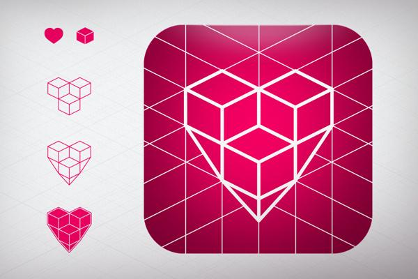 SPUN: City News #icon #pink #app #identity #spun #ios