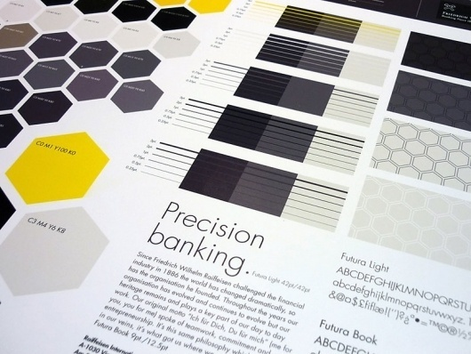 Saffron Brand Consultants » Raiffeisen Private Banking #branding #guide #guidelines #corporate #style