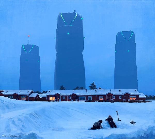 Simon Stålenhag Art Gallery #sweden #fi #sci #simon #illustration #stlenhag