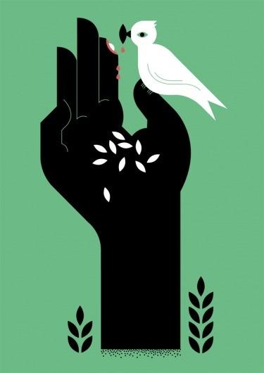 Seize the proffered hand - yehteh #hand #bird