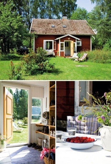 a lovely cottage in småland, sweden | the style files #country #relaxing #house