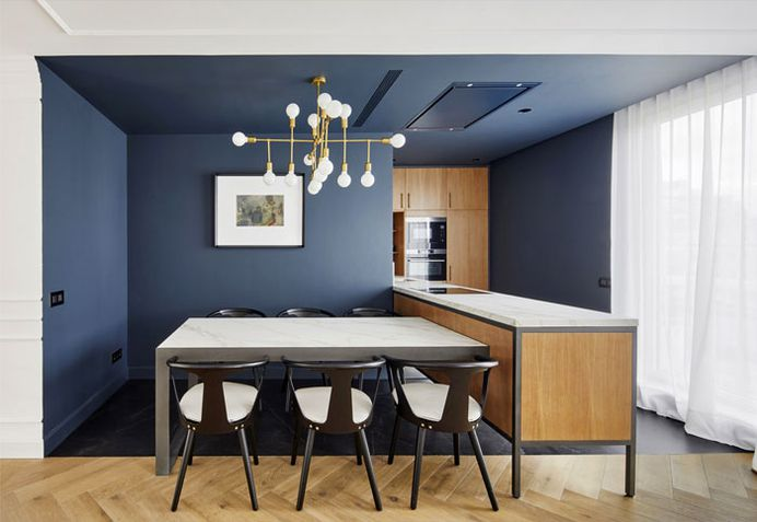 Renovating Old City House in Full-Color Luxury - InteriorZine