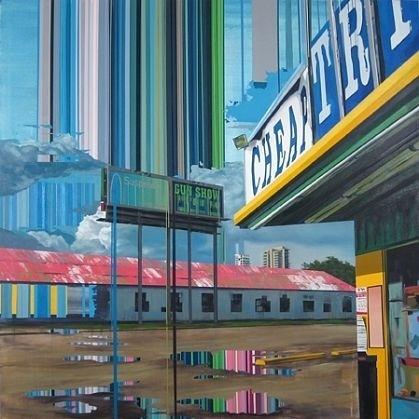 """Sign of the Times"" Paintings by Kim Cadmus « ArtStormer #paintings"