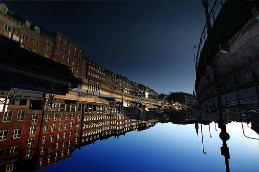 Flickr: Your Photostream #city #fish #looking #photography #up #reflection #pov