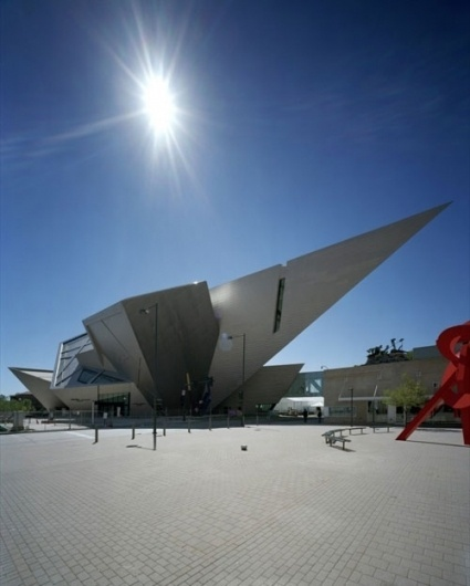 20 Museums That Are Fine Architectural Examples #denver #art #museum