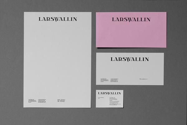 Lars Wallin by Kurppa Hosk #identity #stationary