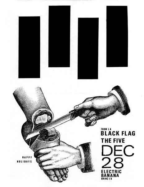 Black Flag #flag #gig #black #poster