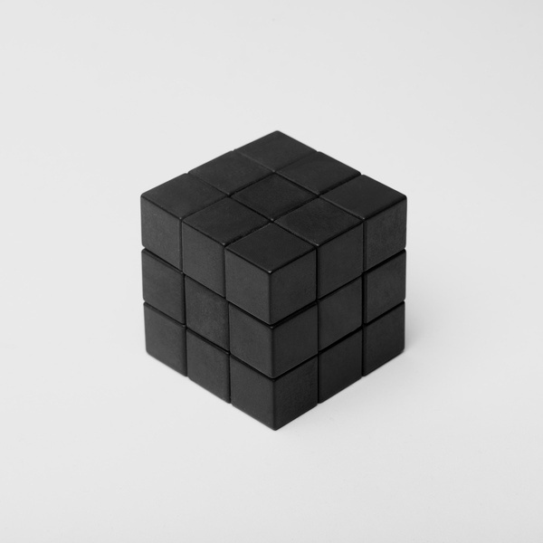Cube by Roc Canals #photo #white #black #and
