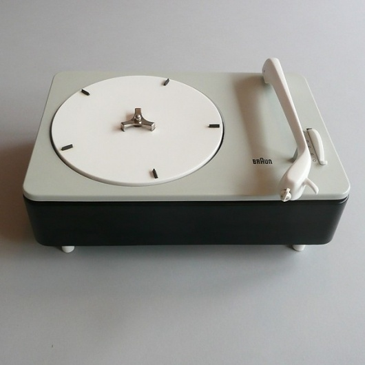 Braun electrical - Audio - Braun PC 3 - SV #design #player #record #1960s #industrial #braun #vintage #rams #dieter