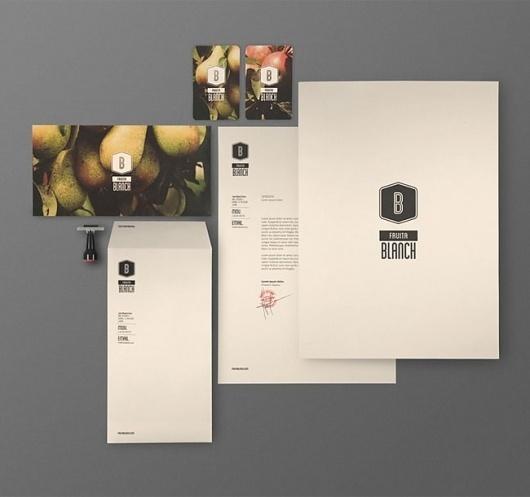 Fruita Blanch | Identity Designed #logo #design #branding
