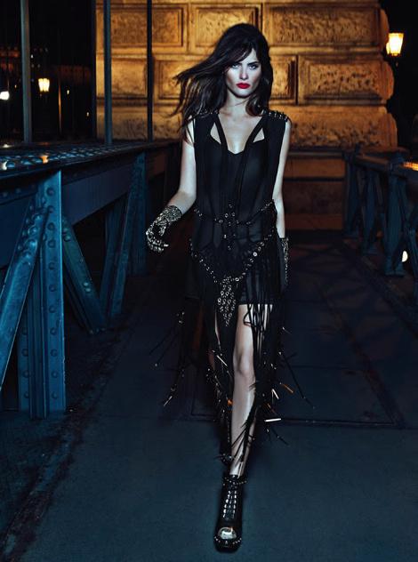 Isabeli Fontana for Morena Rosa Shoes Campaign #fashion #photography #lookbook