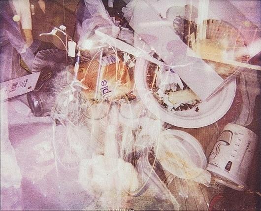 Soho, NYC | Flickr - Photo Sharing! #city #exposure #polaroid #spectra #double #trash #york #garbage #new