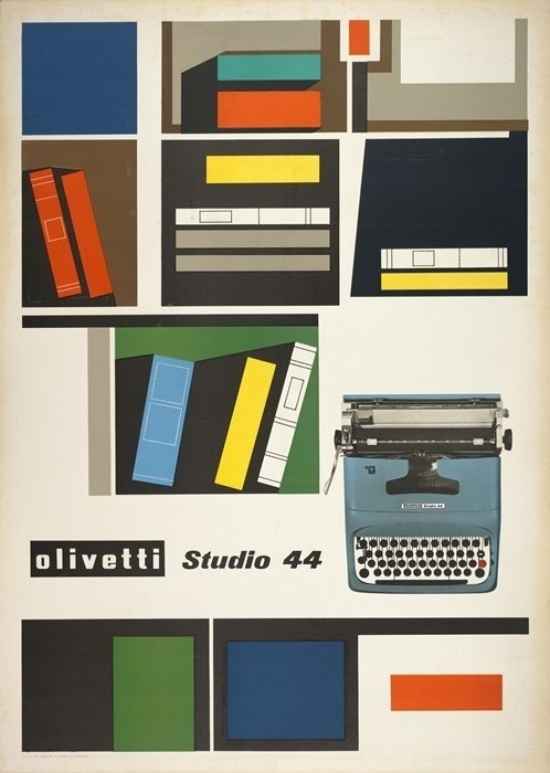 Tumblr #olivetti #print #design #graphic #giovanni #illustration #vintage #poster #pintori