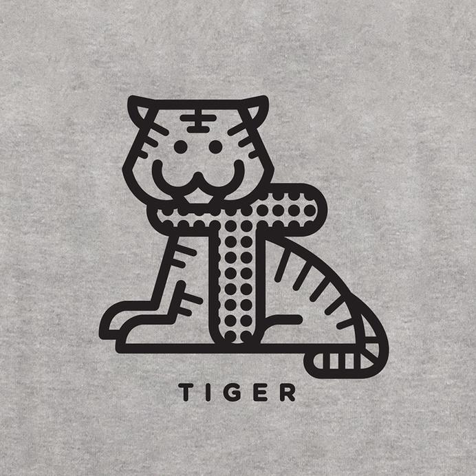 Tiger #icon #design #graphic #illustration #tiger #typography