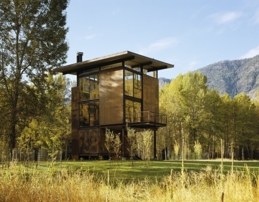 WANKEN - The Blog of Shelby White » The Delta Shelter #steel #delta #shelter #modern #architects #architecture #olson #kundig