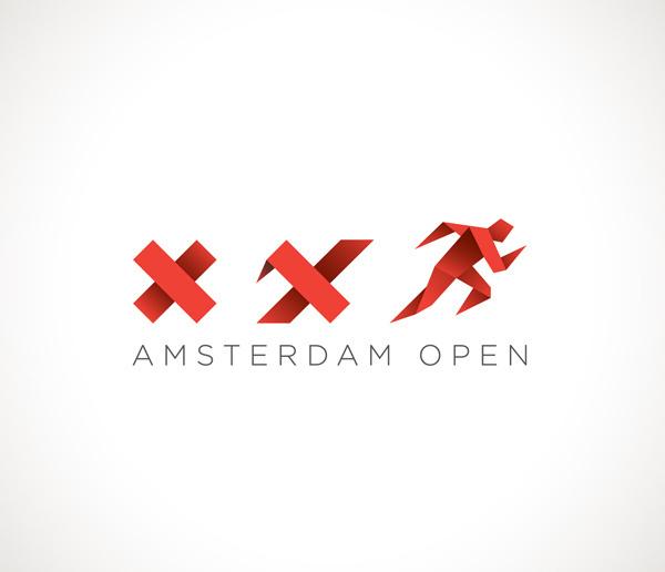 Amsterdam Open Logo by Lorenzo Milito #logo #amsterdam