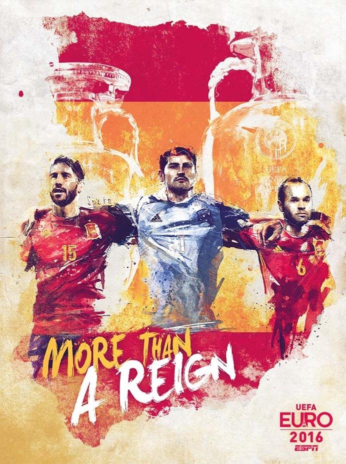 Intense EURO 2016 Teams Illustrations