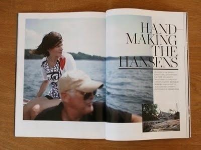 THEHANSENFAMILY: SURFACE MAGAZINE #spread #print #publication