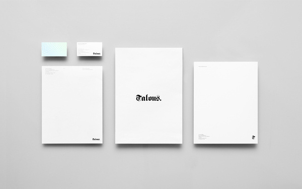 Talous Consulting by Anagrama #logo #identity #typography