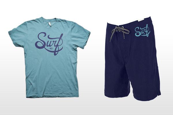 Surf HI apparel - Christopher Vinca #clothing #mock #surf #apparel #branding #up