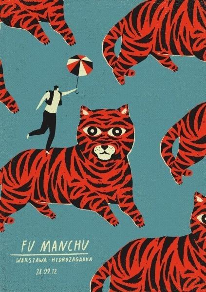 GigPosters.com - Fu Manchu #talkseek