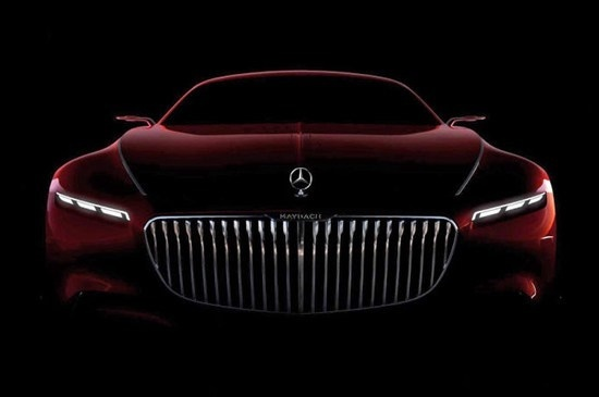 Check Out the First Look at the Monstrous New Mercedes-Maybach 6 #maybach #carporn #pebblebeach #vision #visionmercedesmaybach6