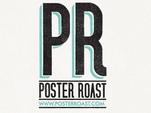 POSTER ROAST : Telegramme Studio #print #design #graphic #poster