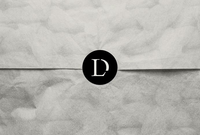 Lou Dungate by Surface and Form #logotype #logo #typography #sticker