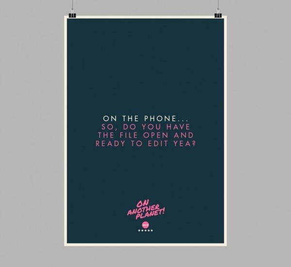 The Client is Always Right Posters4 #design #graphic #client #poster #typography