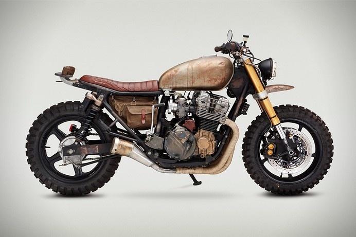 1992 Honda CB750 Nighthawk #old #vehicle #rust #off-road #honda #motorcycle #new